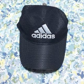アディダス(adidas)のアディダス キャップ ジュニアサイズ ブラック(帽子)