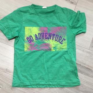 ジーユー(GU)のキッズティーシャツ130センチGUグリーン(Tシャツ/カットソー)