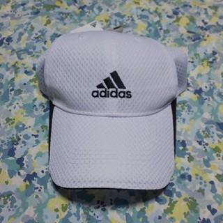 アディダス(adidas)のアディダスジュニアサイズキャップホワイト(帽子)
