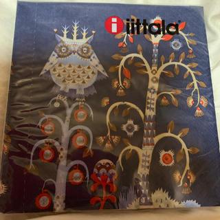 イッタラ(iittala)のタイカ ブルーのペーパーナプキン 10枚(テーブル用品)