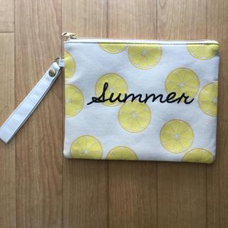 しまむら - クラッチバッグ summer