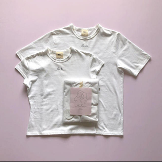 ロキエ(Lochie)の【RiLi tokyo】two of a kind Tee Tシャツ 最終価格(Tシャツ/カットソー(半袖/袖なし))
