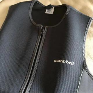 モンベル(mont bell)の廃盤 超美品 モンベル ベスト サイズXL  ウェットスーツ パドリングスーツ(サーフィン)