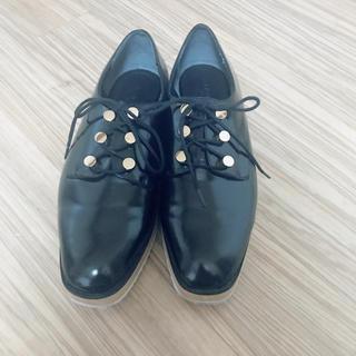 ランダ(RANDA)のRANDA 厚底レースアップシューズ(ローファー/革靴)