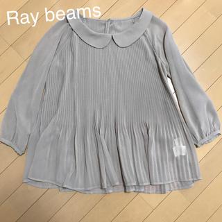 71be25a18826da レイビームス(Ray BEAMS)の丸襟 プリーツブラウス(シャツ/ブラウス(長袖