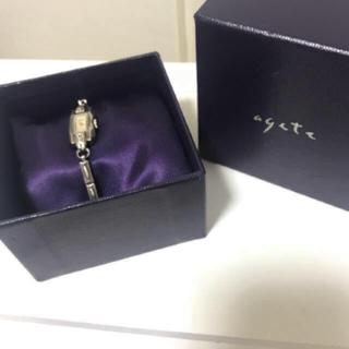 アガット(agete)のアガット ウォッチ 腕時計 シルバー(腕時計)