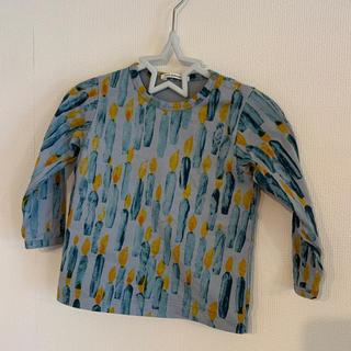ミナペルホネン(mina perhonen)の美品 ミナペルホネン カットソー 90(Tシャツ/カットソー)
