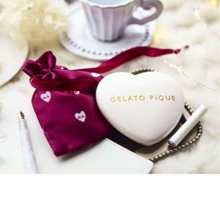 ジェラートピケ(gelato pique)のジェラートピケ ♡ハートの印鑑ケース(印鑑/スタンプ/朱肉)
