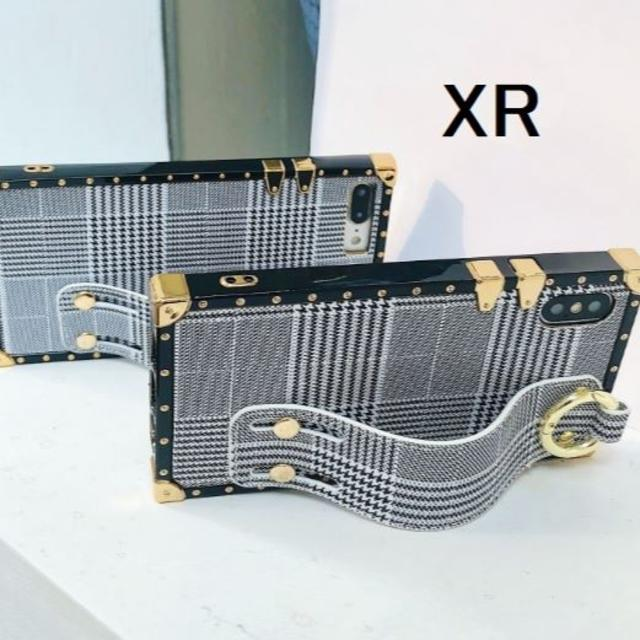 ヴィトン iphone8 ケース 新作 | リストストラップ アイフォーンケース XR トランク型の通販 by らん|ラクマ