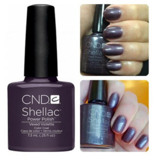 シェラック(SHELLAC)のshellac シェラックネイル Vexed Violette color(カラージェル)