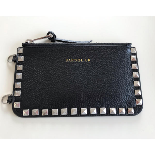 moschino iphonexr ケース | ESTNATION - BANDOLIER バンドリヤー ブラック スタッズ ポーチの通販 by one1146's shop|エストネーションならラクマ