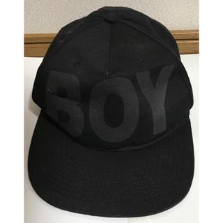 ボーイロンドン(Boy London)のBoy Londonキャップ 帽子 ブラック(キャップ)