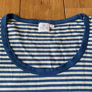 サンスペル(SUNSPEL)のサンスペル ボーダーTシャツ レディース  sunspel (Tシャツ(半袖/袖なし))
