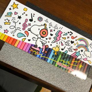 スヌーピー(SNOOPY)の【送料無料】スヌーピー (SNOOPY)50色色鉛筆 新品未使用(色鉛筆)