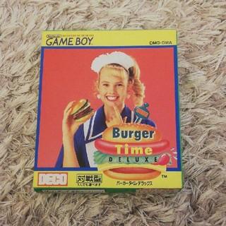 ゲームボーイ(ゲームボーイ)のバーガータイムDX ラスト1(家庭用ゲームソフト)