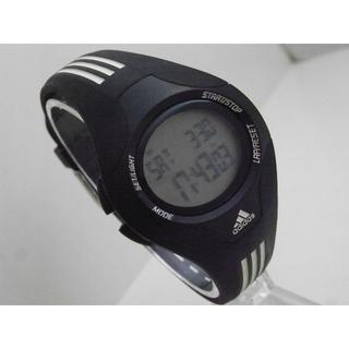 アディダス(adidas)のadidas デジタル腕時計 スポーツウォッチ ブラック 多機能(腕時計)