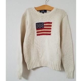 ef52466192ec8 ラルフローレン(Ralph Lauren)のRALPH LAUREN ラルフローレン ニット セーター 130 国旗 星条旗
