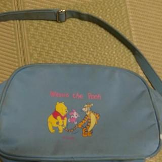 ディズニー(Disney)の値下げ☆通園バック☆保育園バック☆ショルダーバッグ☆プーさん☆(通園バッグ)
