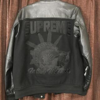 シュプリーム(Supreme)のsupreme 07 varsity jacket 自由の女神(スタジャン)