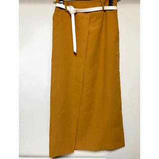 ソフィット(Soffitto)のSoffitto ベルト付きスカート(ロングスカート)