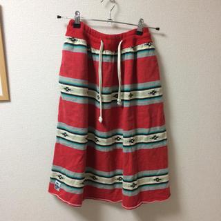 チャムス(CHUMS)のCHUMS オルテガ柄スカート(ひざ丈スカート)