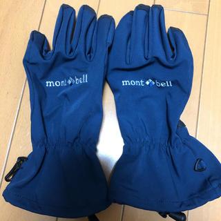 モンベル(mont bell)の美品 モンベル 手袋 グローブ L メンズ(手袋)