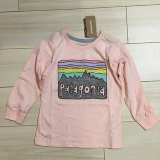 パタゴニア(patagonia)のパタゴニア ベビー グラフィック オーガニック Tシャツ  3Tサイズ(Tシャツ/カットソー)