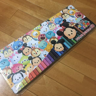ディズニー(Disney)のツムツム 色鉛筆セット(色鉛筆 )