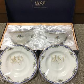 ミカサ(MIKASA)のMIKASA カップソーサー セット(グラス/カップ)