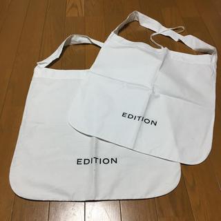 エディション(Edition)のEDITION の ショップ袋(ショップ袋)