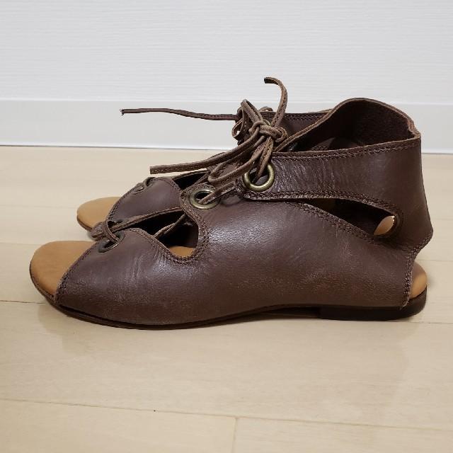レースアップサンダル レディースの靴/シューズ(サンダル)の商品写真