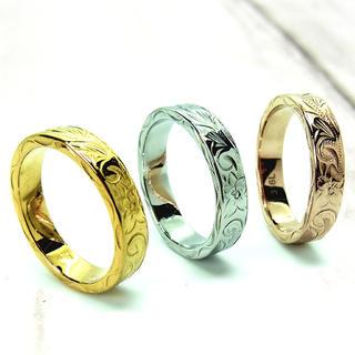 ハワイアンジュエリー リング 3カラー 在庫希少 一番人気(リング(指輪))