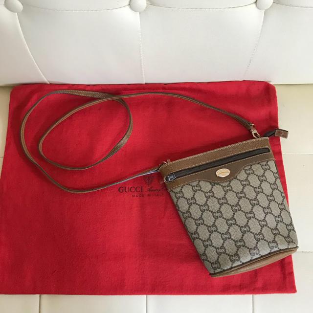 36124d18addb Gucci(グッチ)の極 美品 GUCCI Plus オールド グッチ ショルダー バッグ ポシェット レディース
