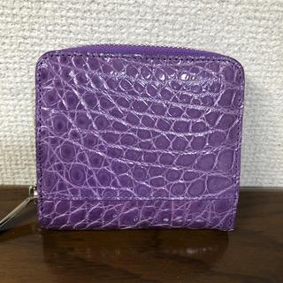 ハマノヒカクコウゲイ(濱野皮革工藝/HAMANO)のHAMANO クロコウォレット (財布)