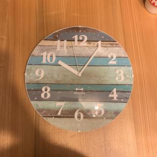 フランフラン(Francfranc)のBRUNO電波時計(掛時計/柱時計)