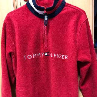 トミーヒルフィガー(TOMMY HILFIGER)のTOMMY HILFIGER フリース ハーフジップ(ブルゾン)