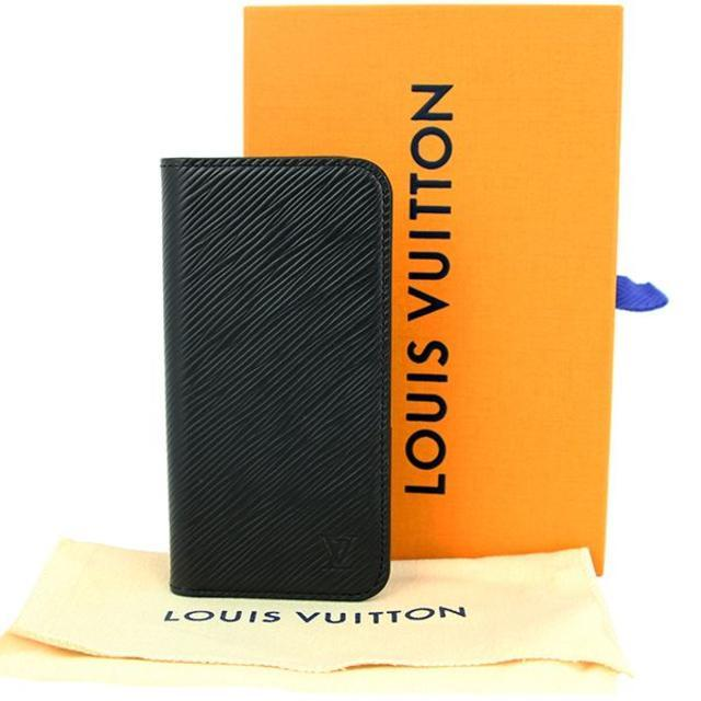 iphone7 ケース 手帳 海外 | LOUIS VUITTON - ルイヴィトン iPhone X / XS フォリオ エピ ブラックの通販 by papi's shop|ルイヴィトンならラクマ
