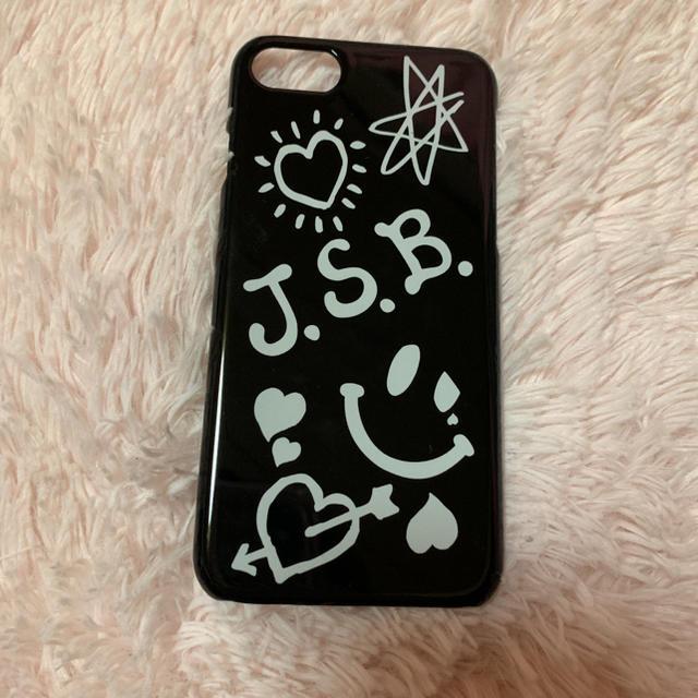 三代目 J Soul Brothers(サンダイメジェイソウルブラザーズ)のJSB iPhoneケース スマホ/家電/カメラのスマホアクセサリー(iPhoneケース)の商品写真