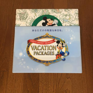 ディズニー(Disney)の【最終値下げ】バケーションパッケージ クリアケース(ノベルティグッズ)
