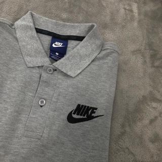 ナイキ(NIKE)のNIKE ナイキ ポロシャツ 正規品 グレー 半袖(ポロシャツ)