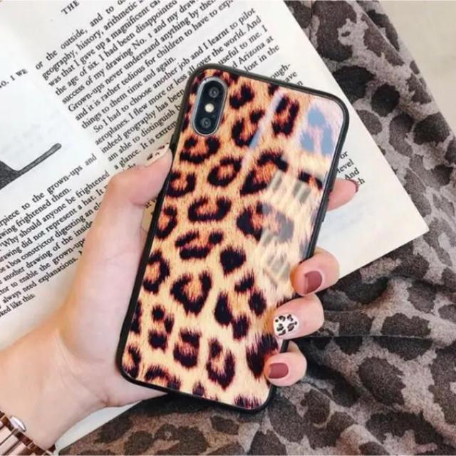 フェンディ iphonexr カバー | 新作☆ヒョウ柄 iPhoneケース iPhone7 8 X スマホケースの通販 by くろまめ's shop|ラクマ
