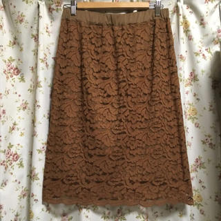 シマムラ(しまむら)のしまむら レーススカート 総レーススカート(ひざ丈スカート)
