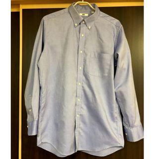 ユニクロ(UNIQLO)の【ユニクロ】ワイシャツ Yシャツ  青 XL(シャツ)