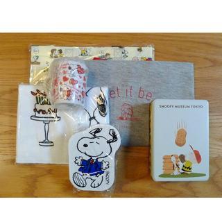 スヌーピー(SNOOPY)のSnoopy マグカップ 弁当箱 缶 スヌーピー トートバッグ エコバッグ(その他)