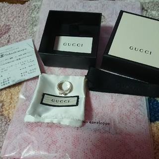 グッチ(Gucci)の♡GUCCI シルバーリング♡新品同様♡(リング(指輪))