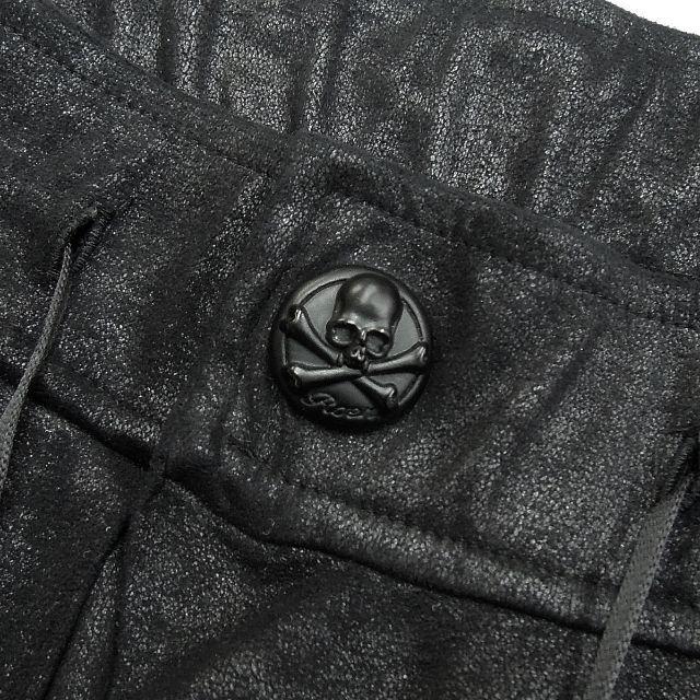 Roen(ロエン)の定価5.1万★Roenコーティング加工サルエルパンツ イージーパンツ スウェット メンズのパンツ(サルエルパンツ)の商品写真