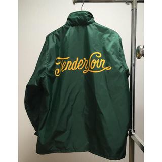 テンダーロイン(TENDERLOIN)の新品 TENDERLOIN ナイロン コーチジャケット coach サイズS(ナイロンジャケット)