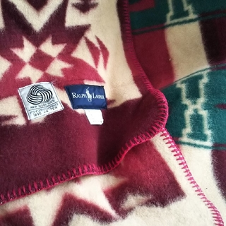 ラルフローレン(Ralph Lauren)のラルフローレンブランケット(箱あり)(毛布)
