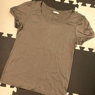 ユニクロ(UNIQLO)の美品 ユニクロ パフスリーブティシャツ S(Tシャツ(半袖/袖なし))
