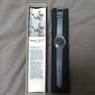 ユンハンス(JUNGHANS)の【美品】ユンハンス マックスビル 手巻き(腕時計(アナログ))